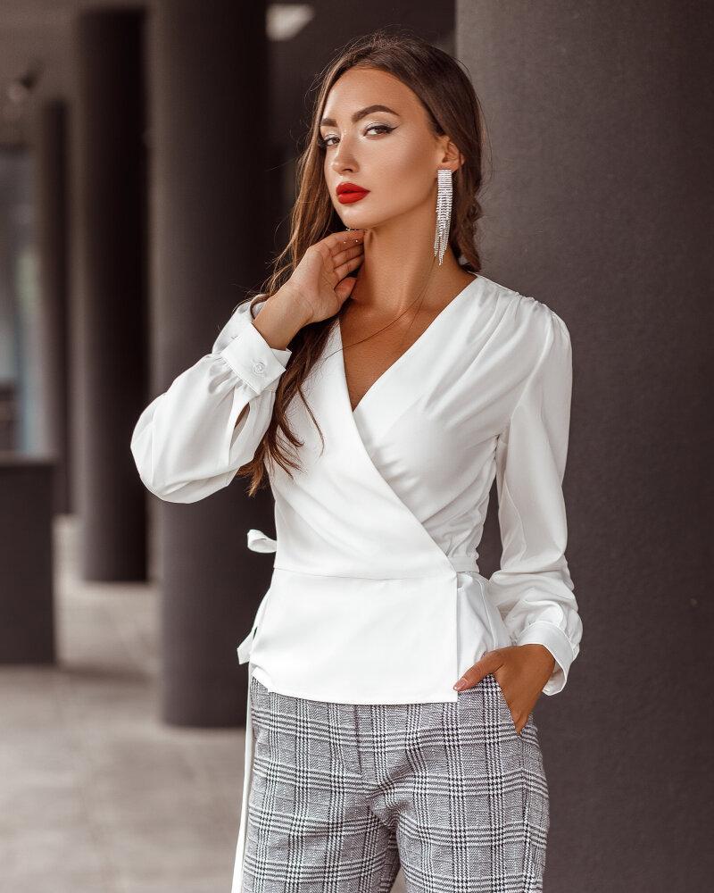 Блуза в классическом стиле фото