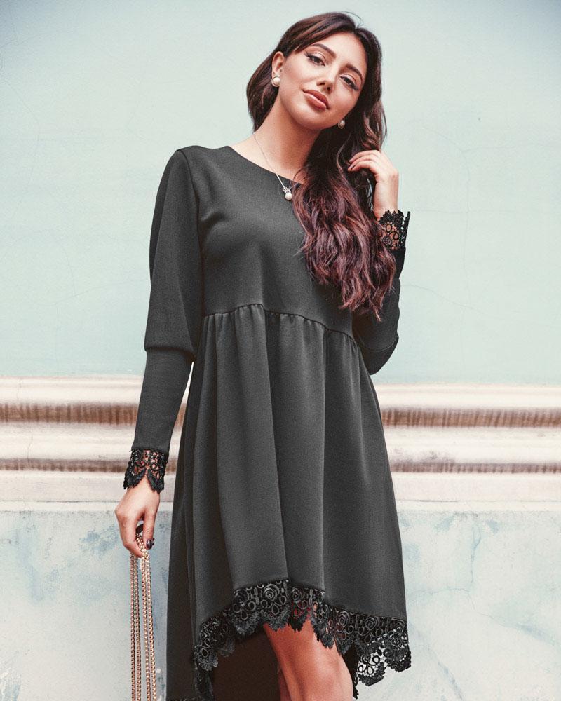 Платье свободного кроя фото