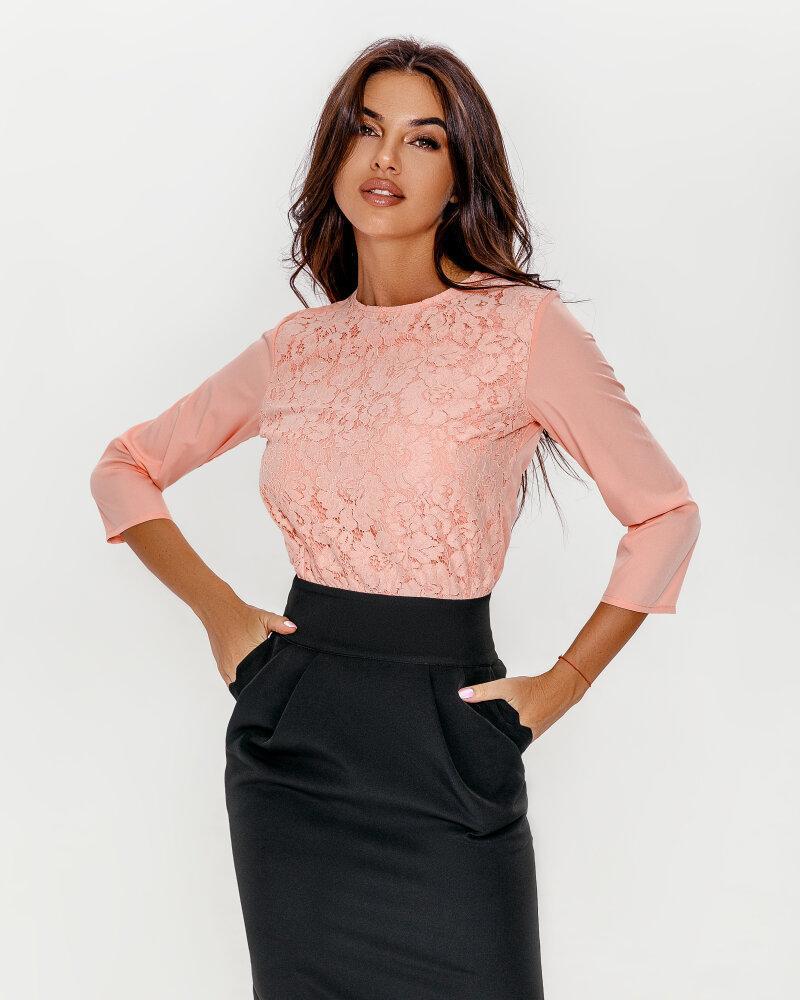 Platya_platya-midi, Комбинированное двухцветное платье, Gepur  - купить со скидкой