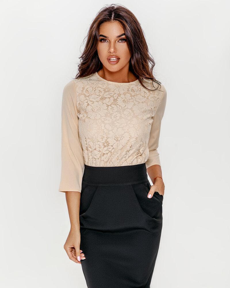 Купить Platya_platya-midi, Комбинированное платье-миди, Gepur