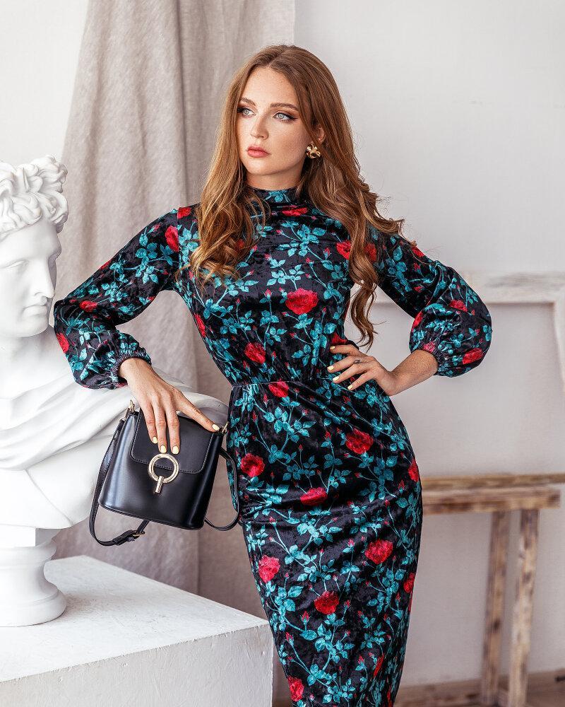 Купить Platya_teplye-platya, Классическое платье-миди, Gepur