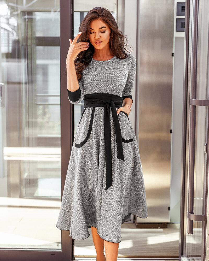 Деловое платье-миди