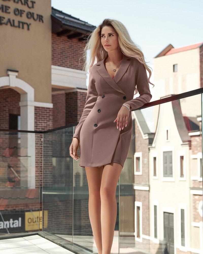 Изящное платье-пиджак фото