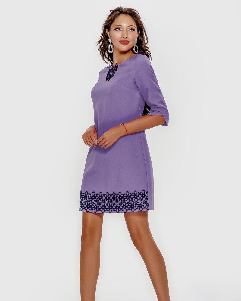 Платье лавандового оттенка фото
