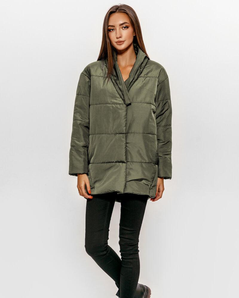 Купить Verhnyaya-odezhda_kurtki_kurtki-na-sintepone, Удлиненная стеганая куртка, Gepur