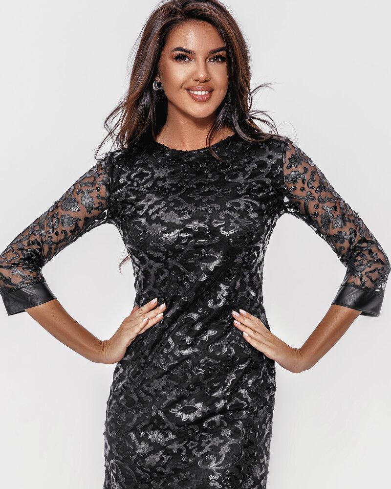 Вечернее платье-мини фото