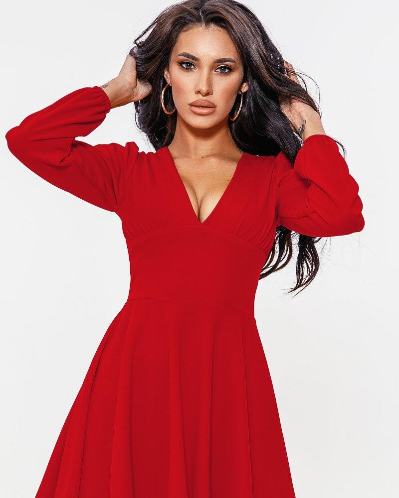 Короткое расклешенное платье фото