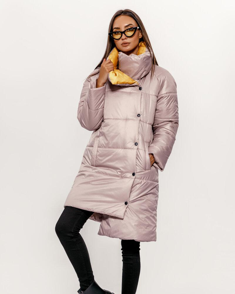 Купить Verhnyaya-odezhda_kurtki_kurtki-na-sintepone, Бежевая удлиненная куртка, Gepur