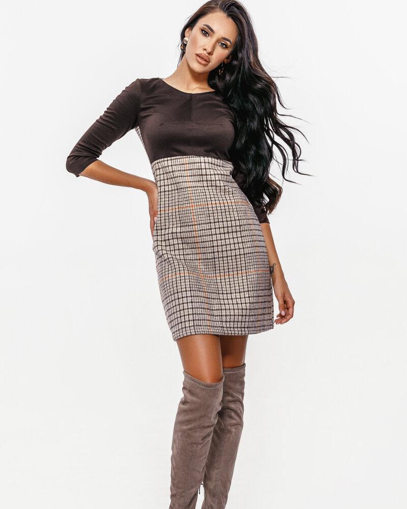 Элегантное шерстяное платье