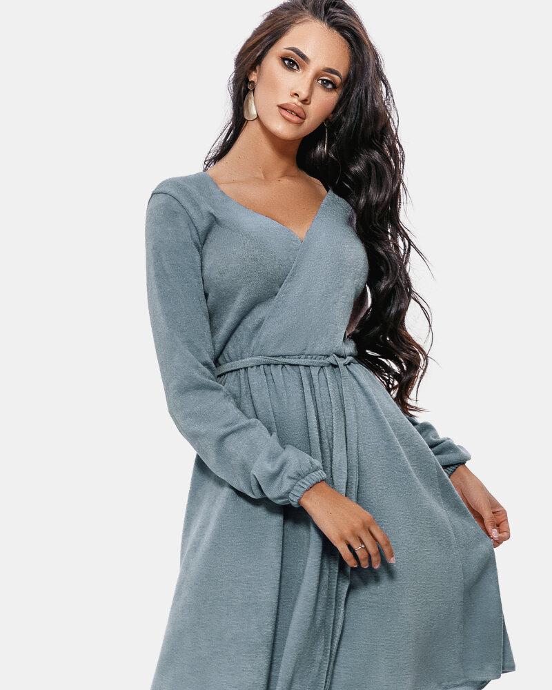 Платье на фиксируемый запа́х фото