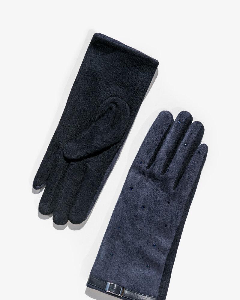Перчатки синего цвета