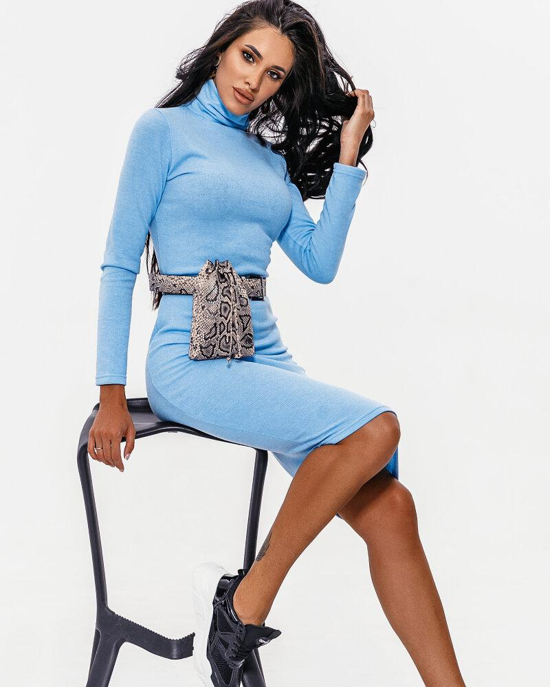 Платье голубого цвета фото