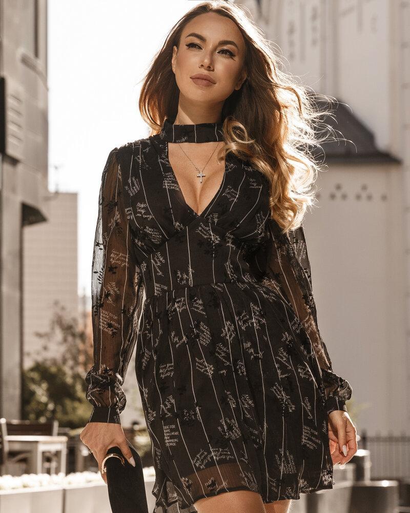 Романтичное шифоновое платье фото