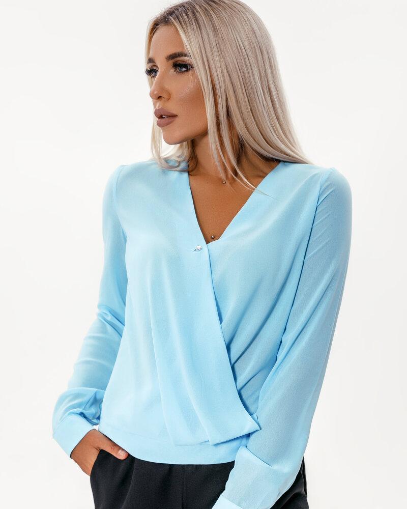 Блуза небесно-голубого фото