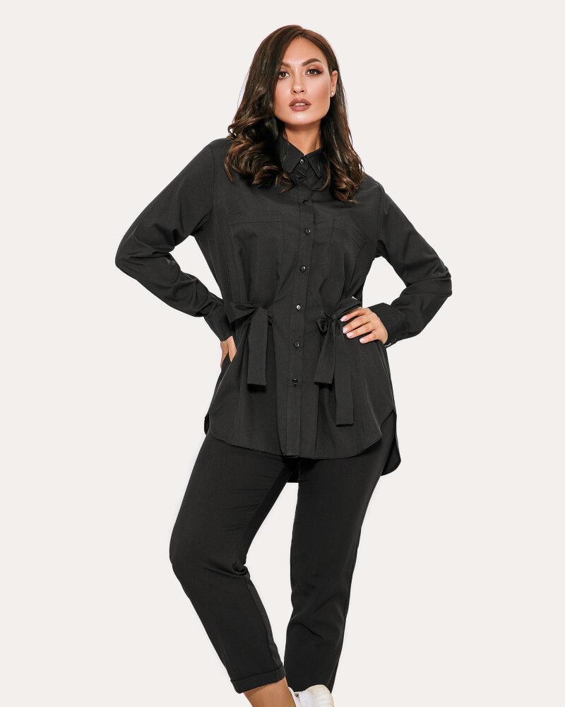 Блуза чорного кольору от Gepur