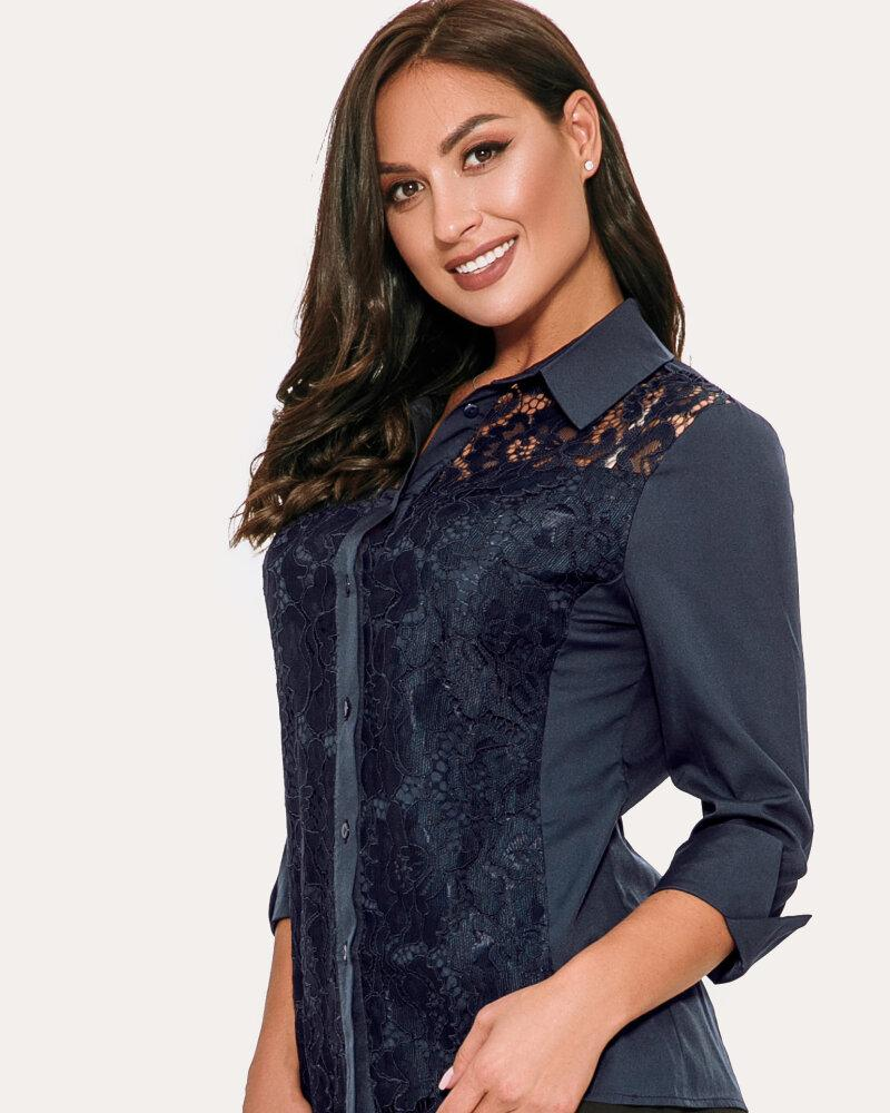 Блуза синього кольору от Gepur