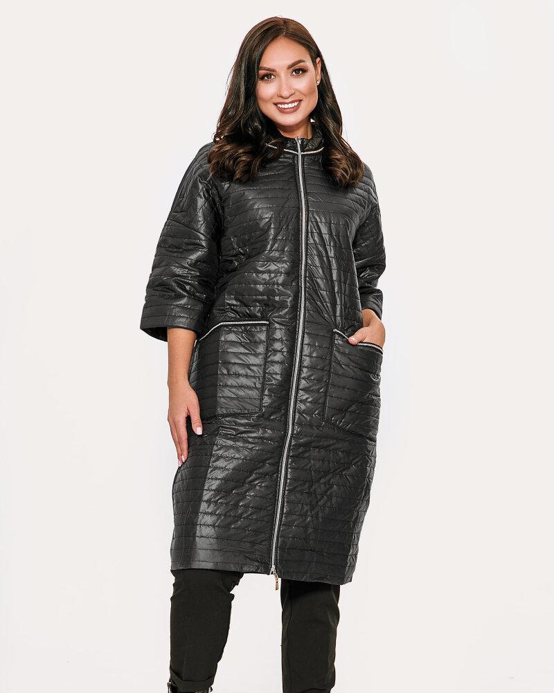 Купить Verhnyaya-odezhda_kurtki_kurtki-na-sintepone, Удлиненная черная куртка, Gepur