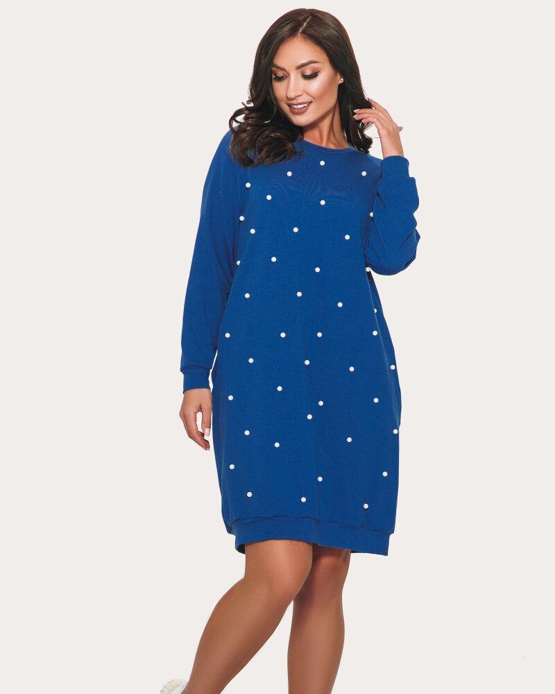Платье синего цвета фото