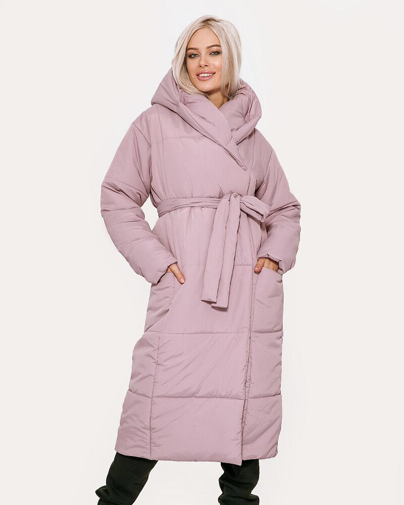 Купить Verhnyaya-odezhda_kurtki_kurtki-na-sintepone, Удлиненная пудровая куртка, Gepur