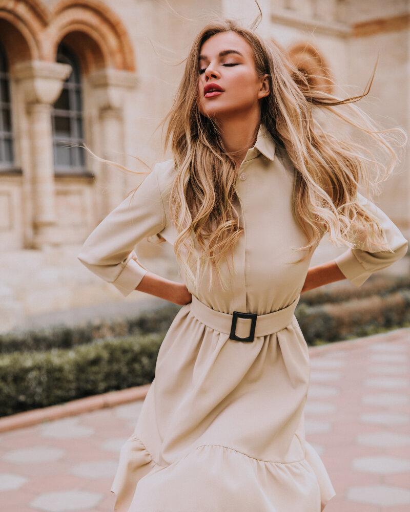 Платье-мини с воланом фото