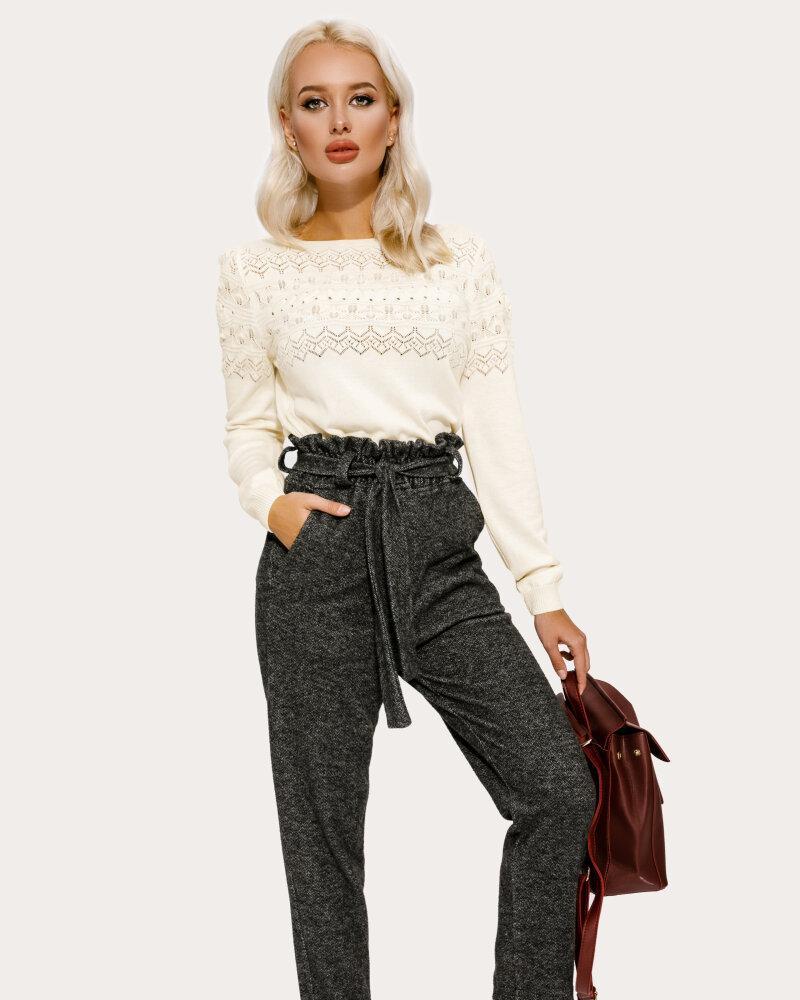Теплые трикотажные брюки