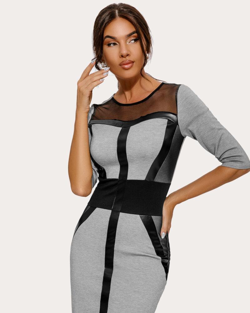 Платье с моделирующими вставками фото