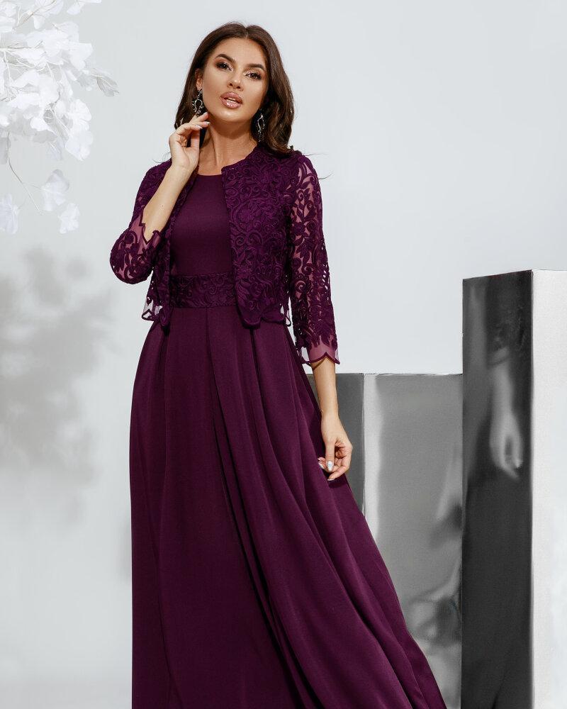 Платье сливового оттенка фото