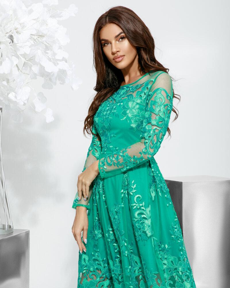Платье с ажурным узором фото