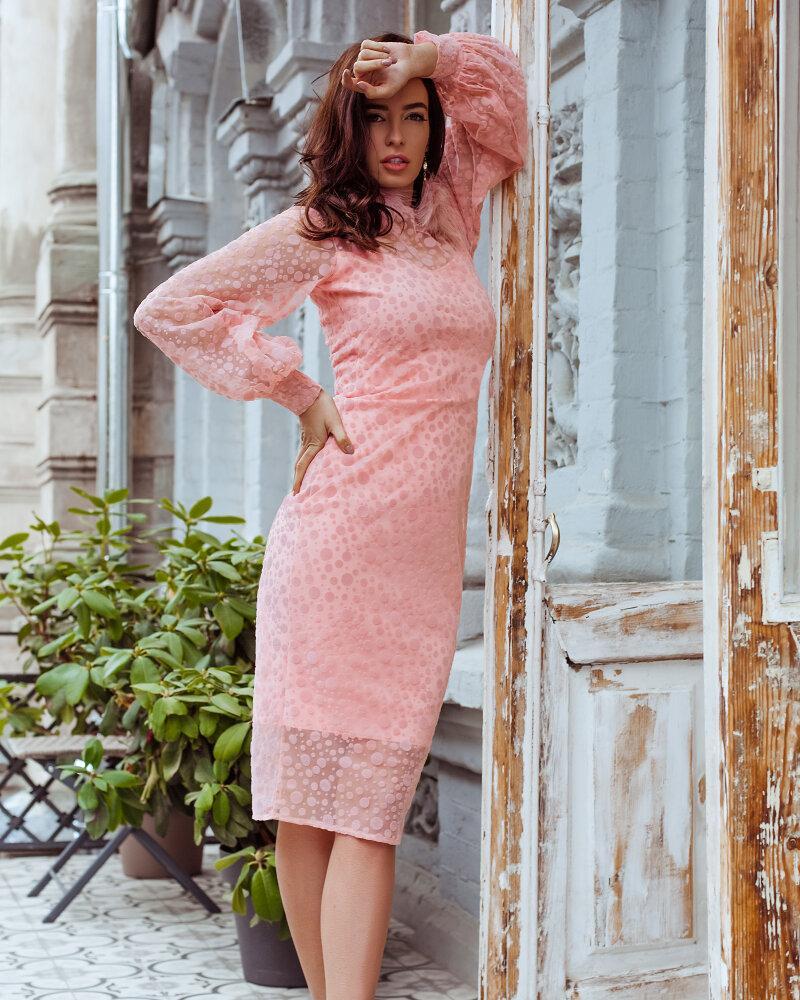 Купить Platya_platya-bolshih-razmerov, Платье приталенного силуэта, Gepur