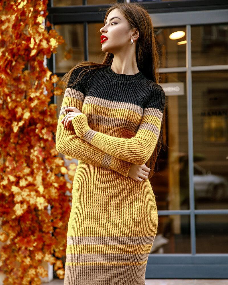 Купить Platya_teplye-platya, Облегающее платье-миди, Gepur