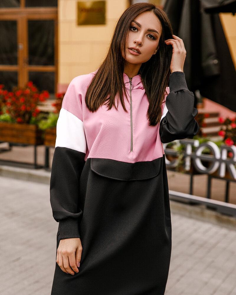 Купить Platya_platya-bolshih-razmerov, Трендовое платье в спортивном стиле, Gepur