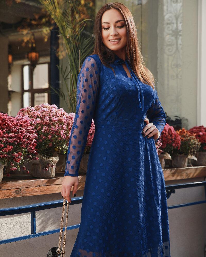 Платье с флоковым напылением фото