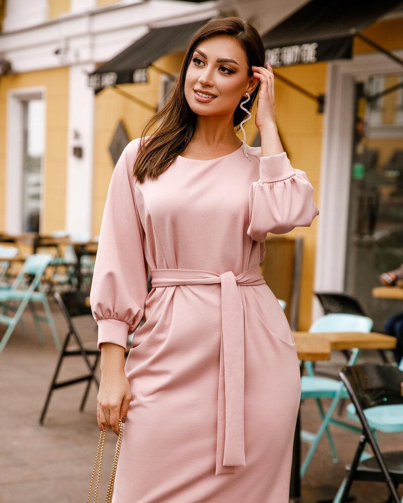 Платье розового цвета фото