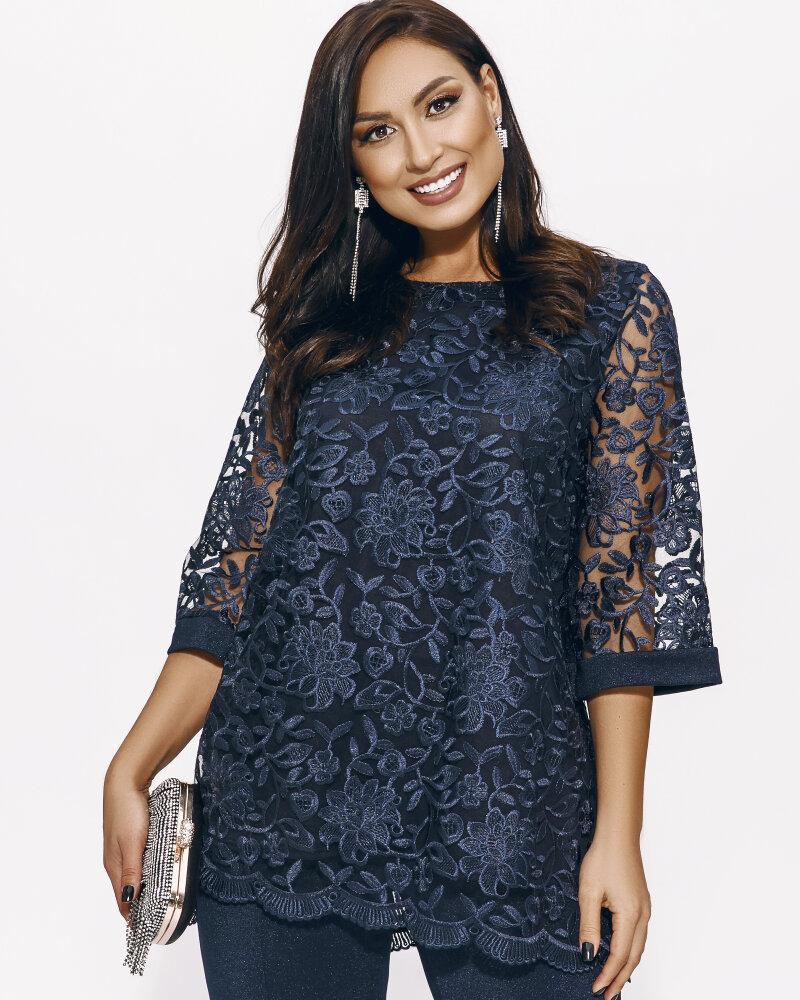 Костюм с кружевной блузой фото