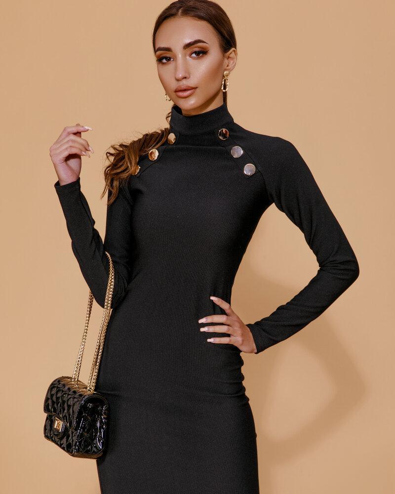 Черное платье-футляр фото