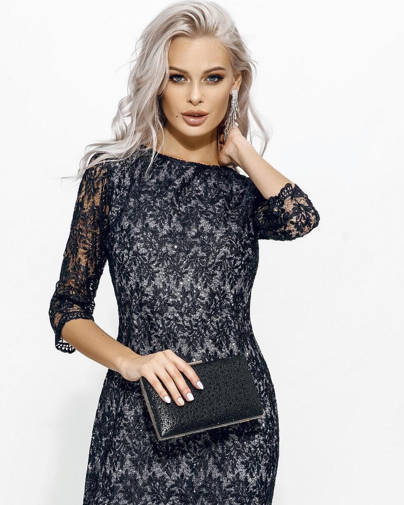 Кружевное платье прямого кроя фото