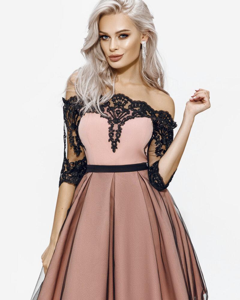 Изящное ажурное платье фото