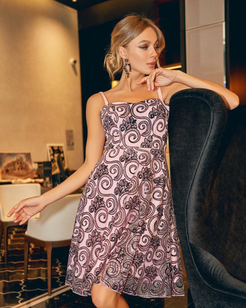 Вечернее блестящее платье фото