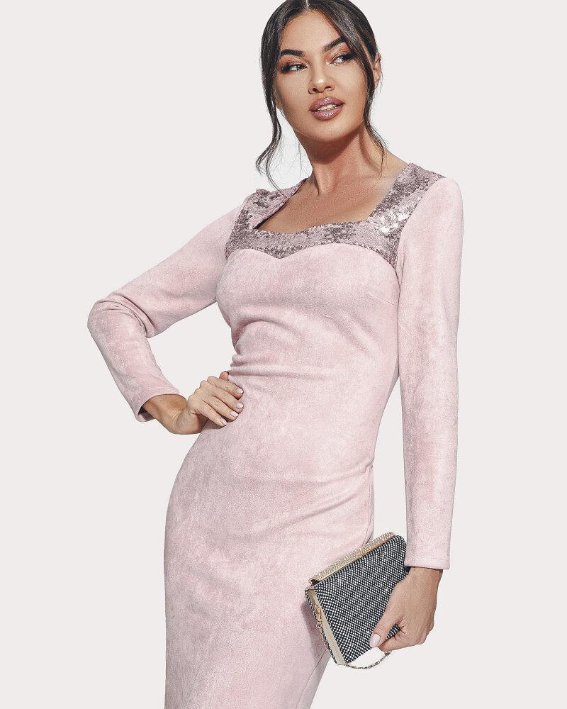 Вечернее платье с пайетками фото