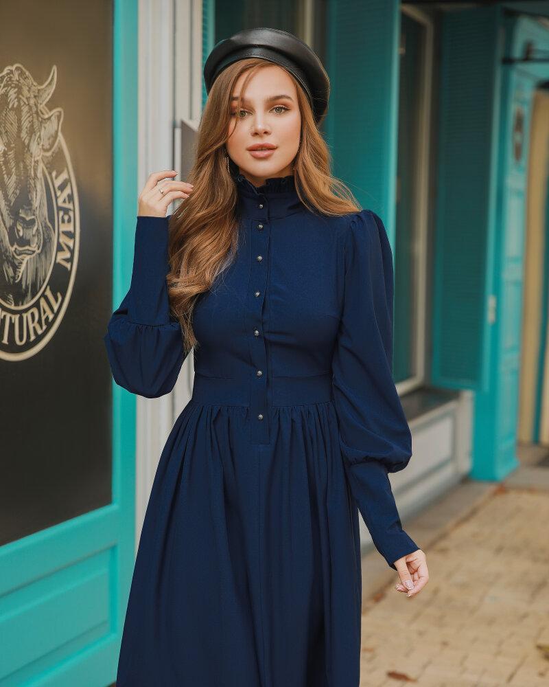 Купить Platya_platya-bolshih-razmerov, Платье классического силуэта, Gepur