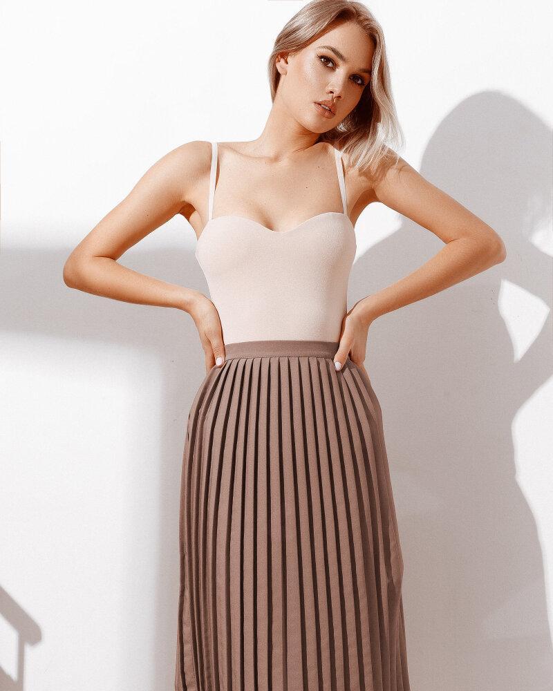 Стильная юбка-плиссе фото