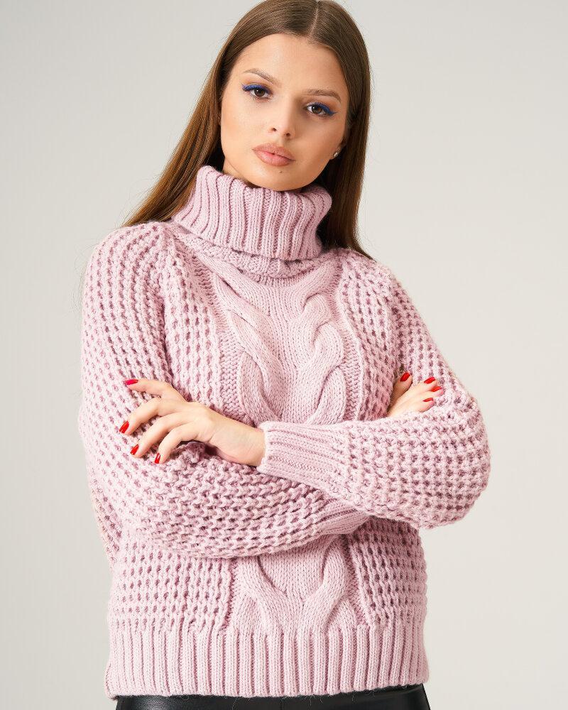 Стильный теплый свитер фото