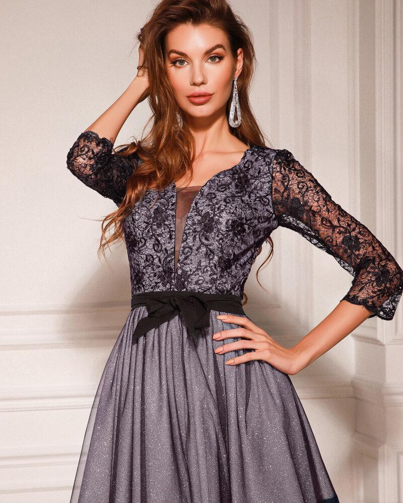 Платье с серебристым напылением фото