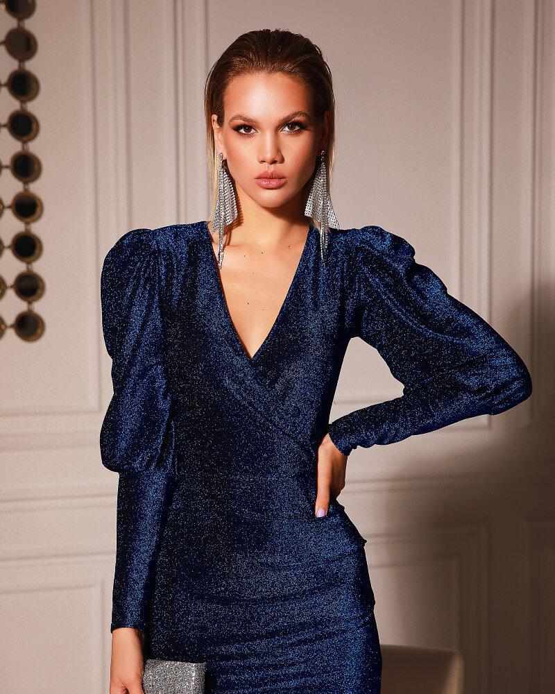 Платье королевского синего цвета фото
