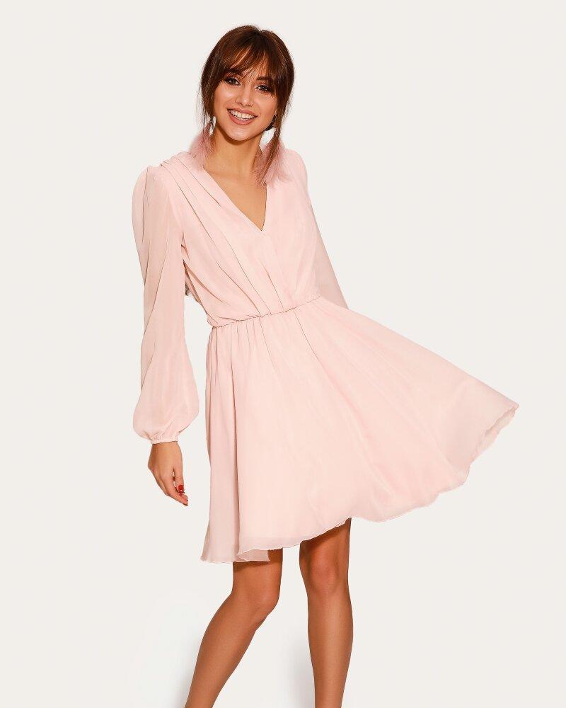 Утонченное шифоновое платье фото