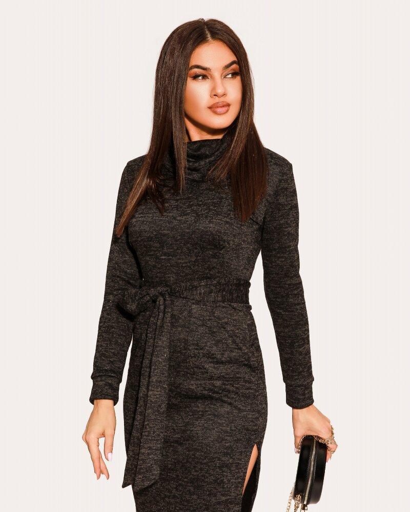 Лаконичное черное платье фото