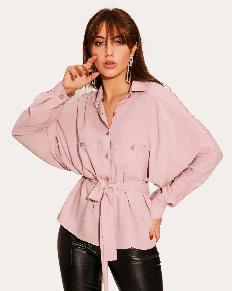Нежная розовая блуза фото