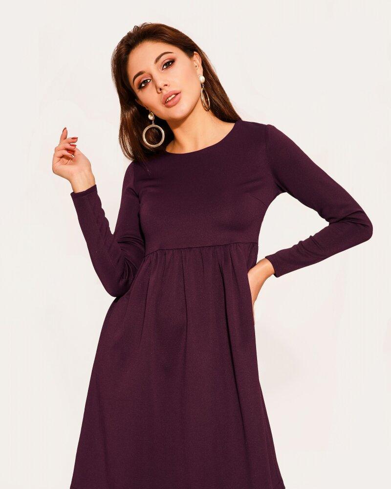 Платье черничного оттенка