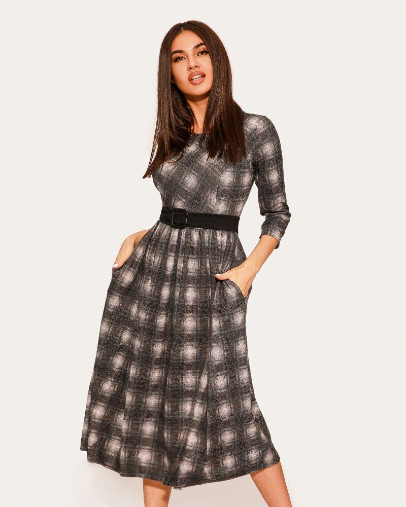Платье в клетчатый принт фото