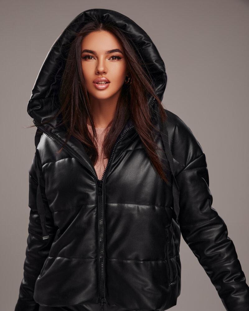 Фото - Стильная куртка из кожи